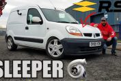 Sleeper renault kangoo turbo