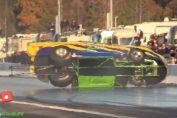 craziest moments drag racing