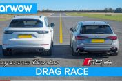 Porsche Cayenne Turbo vs Audi RS4