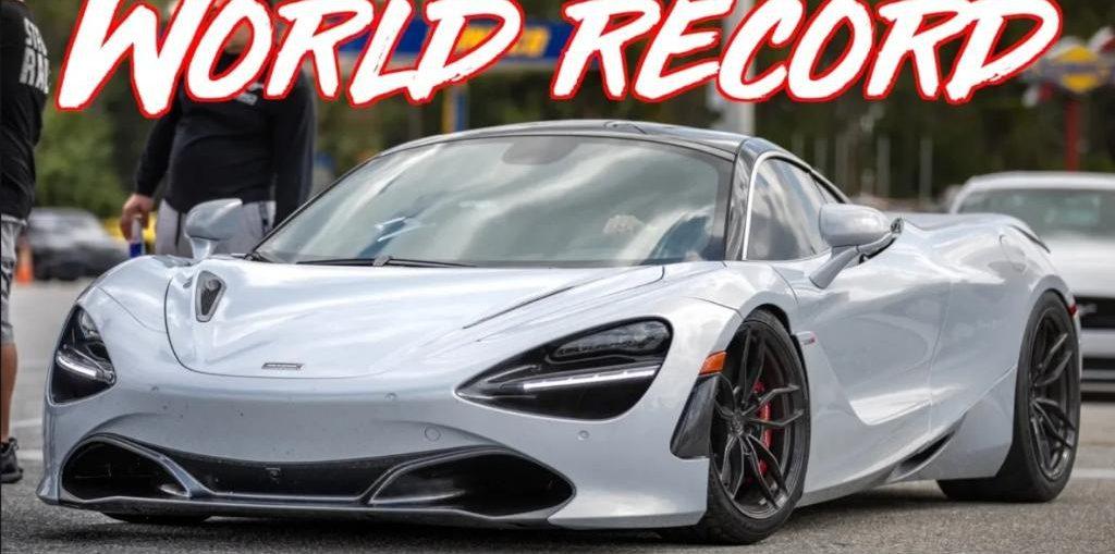 worlds fastest mclaren 720s