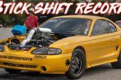 Stick Shift World Record