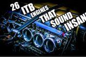 Itb engine sound