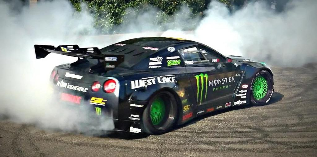Lsx Swapped R35 GT-R V8 drift