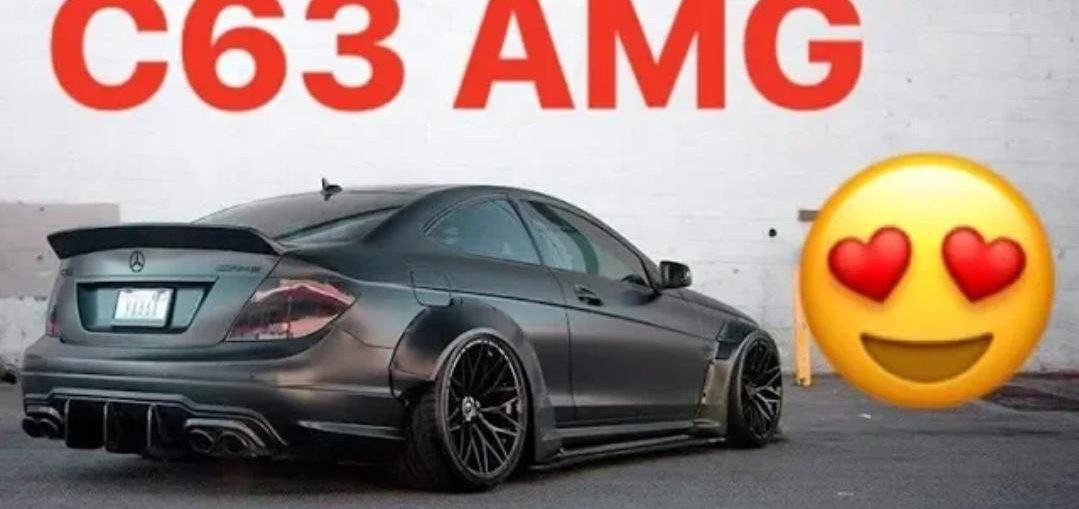 MERCEDES BENZ C63 AMG W204 Compilation HD