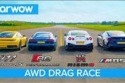 New 911 vs GT-R NISMO vs Audi R8 vs BMW M850i
