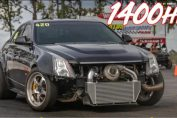 Cadillac CTSV With HUGE 88MM TURBO