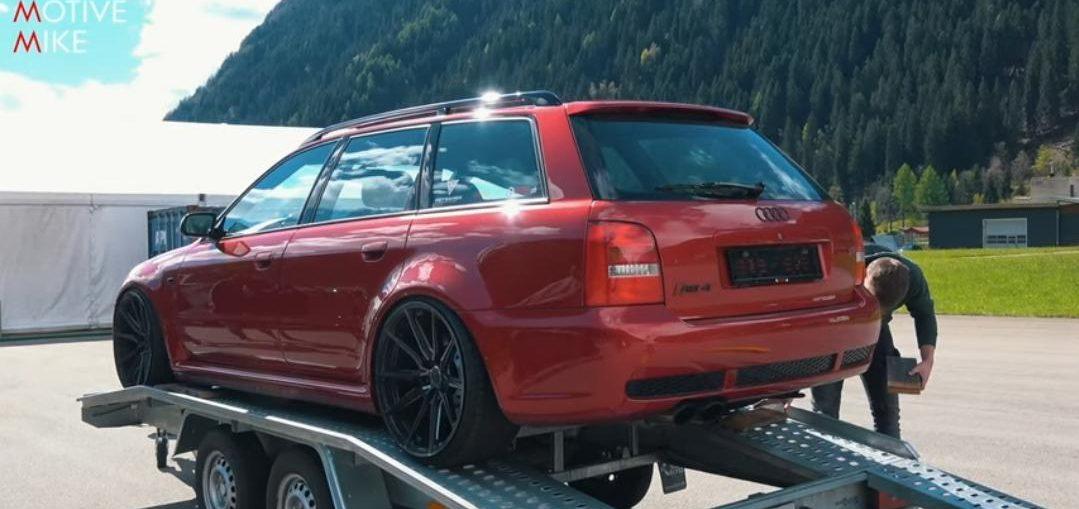 Audi RS4 B5 Antilag Drag