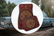 Persian car mats