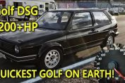 DSG Golf Mk2 1233HP World Record