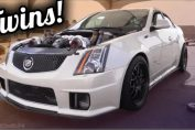 Cadillac Has Twin Turbos