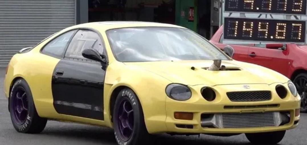 Toyota Celica 1/4 Mile