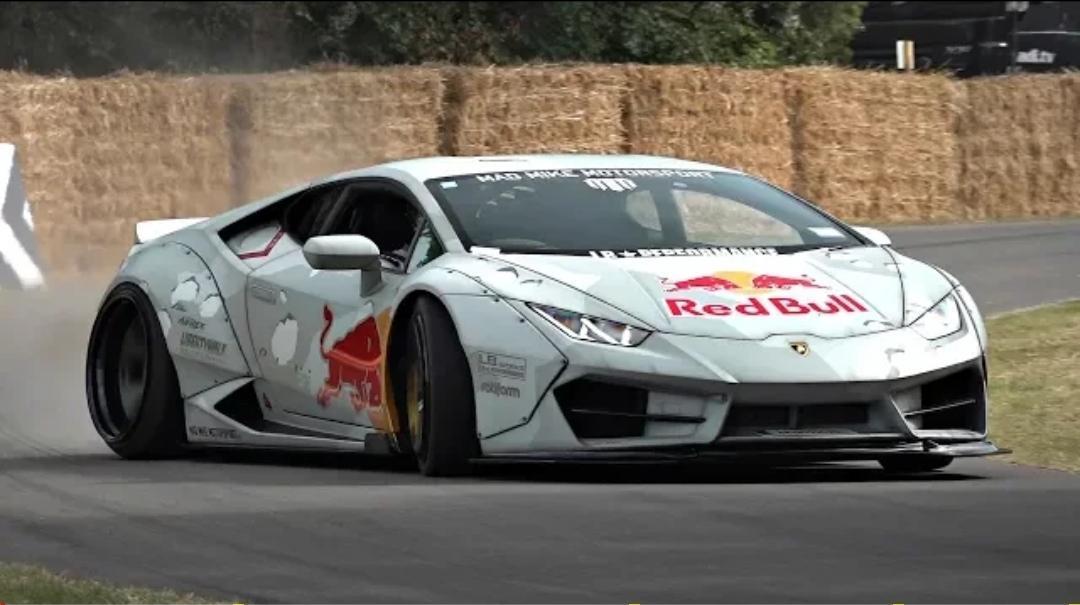 Mad Mike S Crazy 800hp Lamborghini Huracan Drift Car In