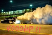 Blown Hemi Studebaker vs Nitrous Camaro