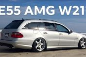 MERCEDES BENZ E55 AMG W211