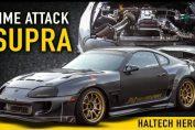 844HP Time Attack Supra