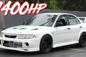 1400HP Evo 6 RS
