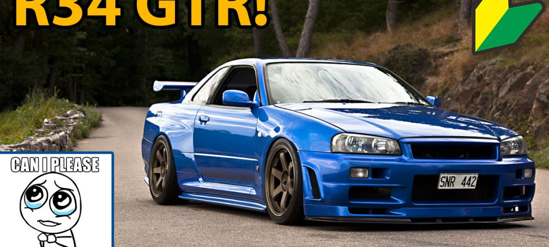 R34 GT-R Tuned