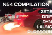 BMW N54 COMPILATION - Pure Sound, 2Step, Single Turbo