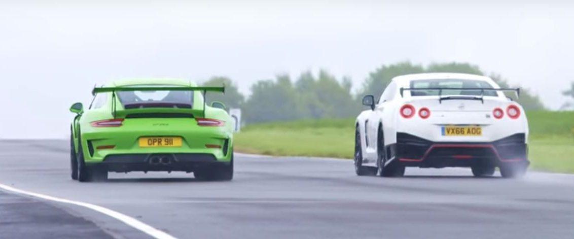 Porsche 911 GT3 RS Vs Nissan GTR Nismo