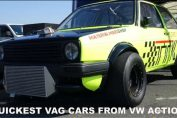 QUICKEST VAG CARS