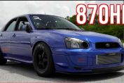 Subaru STI Quest for 8's | 900HP
