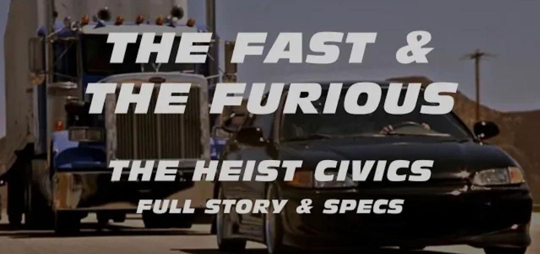 FAST & FURIOUS: HEIST CIVICS