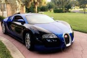 Bugatti Veyron with Rear Seats and FWD