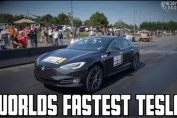 WORLDS FASTEST TESLA