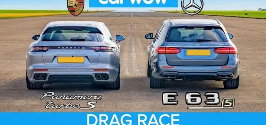 Porsche Panamera Turismo vs AMG E63 S