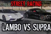MK5 Supra Races Lamborghini Gallardo LP570