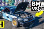 rwd converted v8 volkswagen