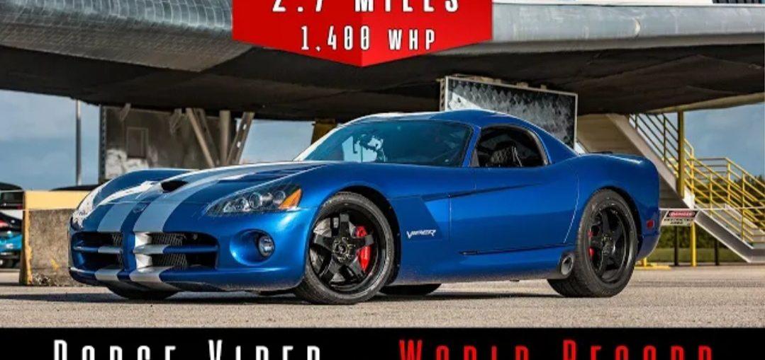 Dodge viper twin turbo