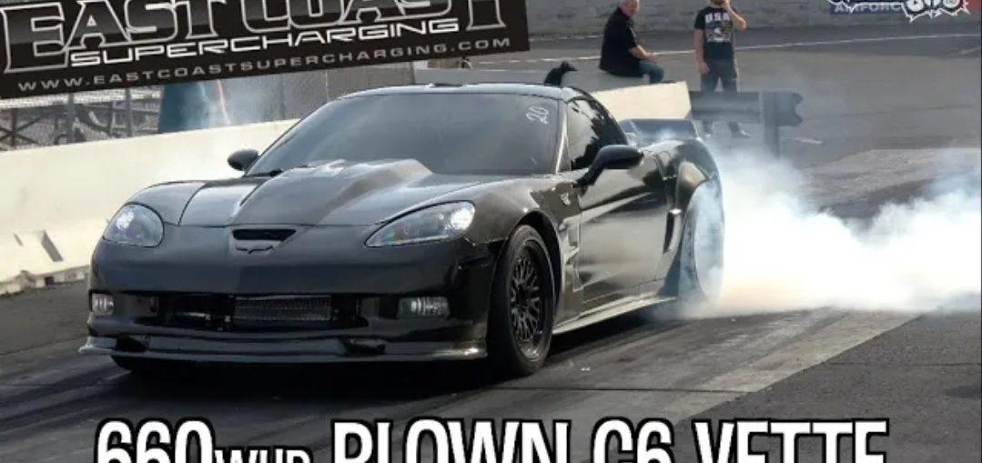 blown c6 corvette