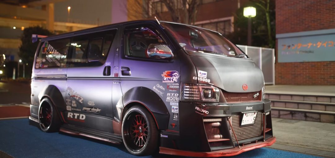 VR38 Swapped Toyota HiAce