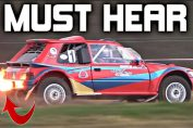 Rotary-Engined Peugeot 205