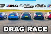 BMW M4 vs AMG C63 S