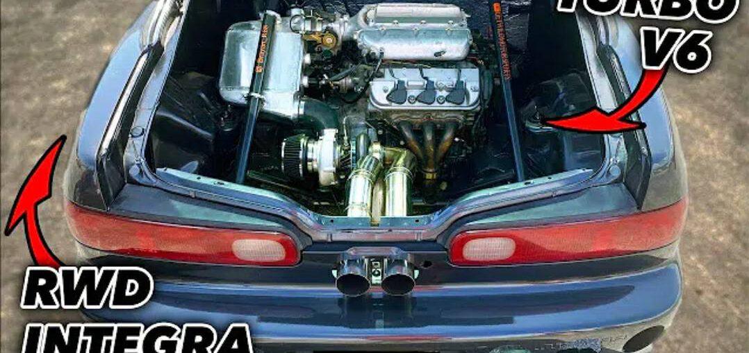 Rear Engine Integra