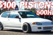 500hp turbo civic