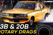 Rotary drag racing