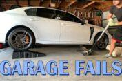 Garage fails