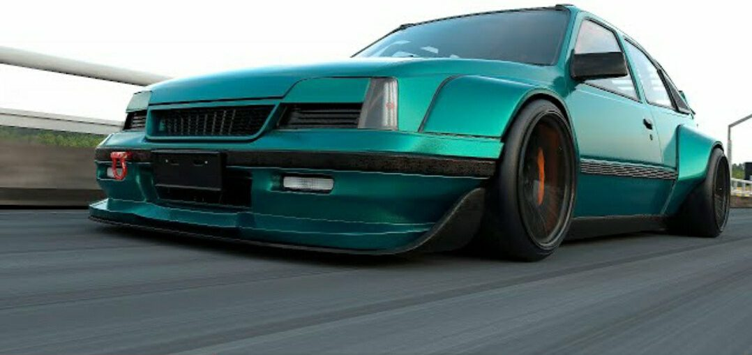 Widebody opel Kadett