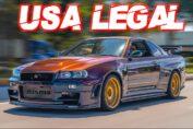 LEGAL Skyline R34 GTR