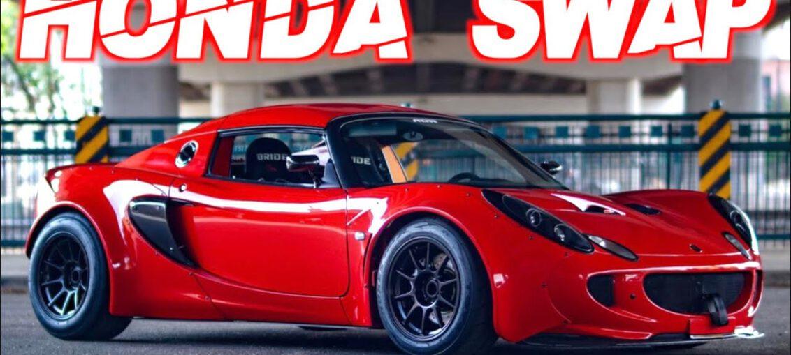 Honda powered lotus