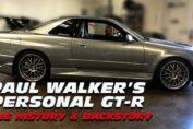 Paul Walker's personal R34 GT-R