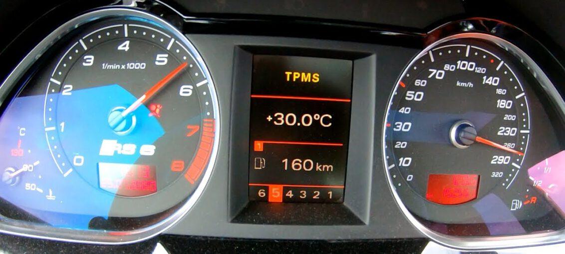 700HP Audi RS6 5.0L TFSI V10 biturbo acceleration 0-100 0 ...