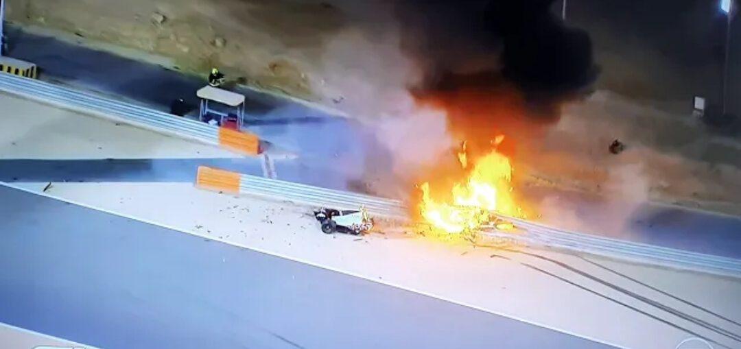 Crash Romain Grosjean