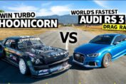 AWD Audi RS3 Vs Ken Block
