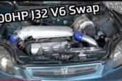 Turbo J32 V6 Civic