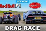 Bugatti Chiron vs F1 Car