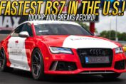 GUTTED Audi RS7 becomes the Fastest RS7